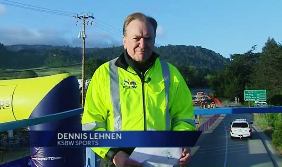 KSBW Sports Anchor Dennis Lehnen