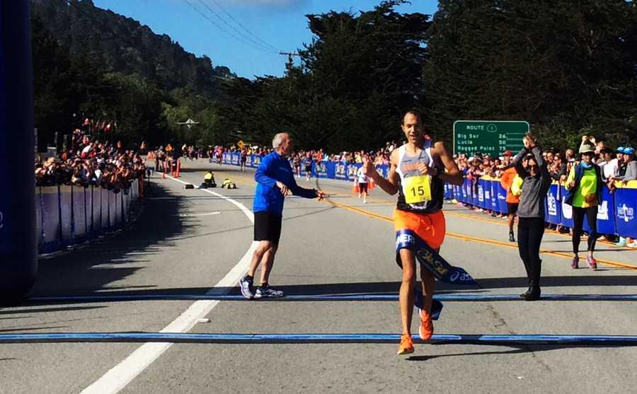 Adam Roach wins the marathon.