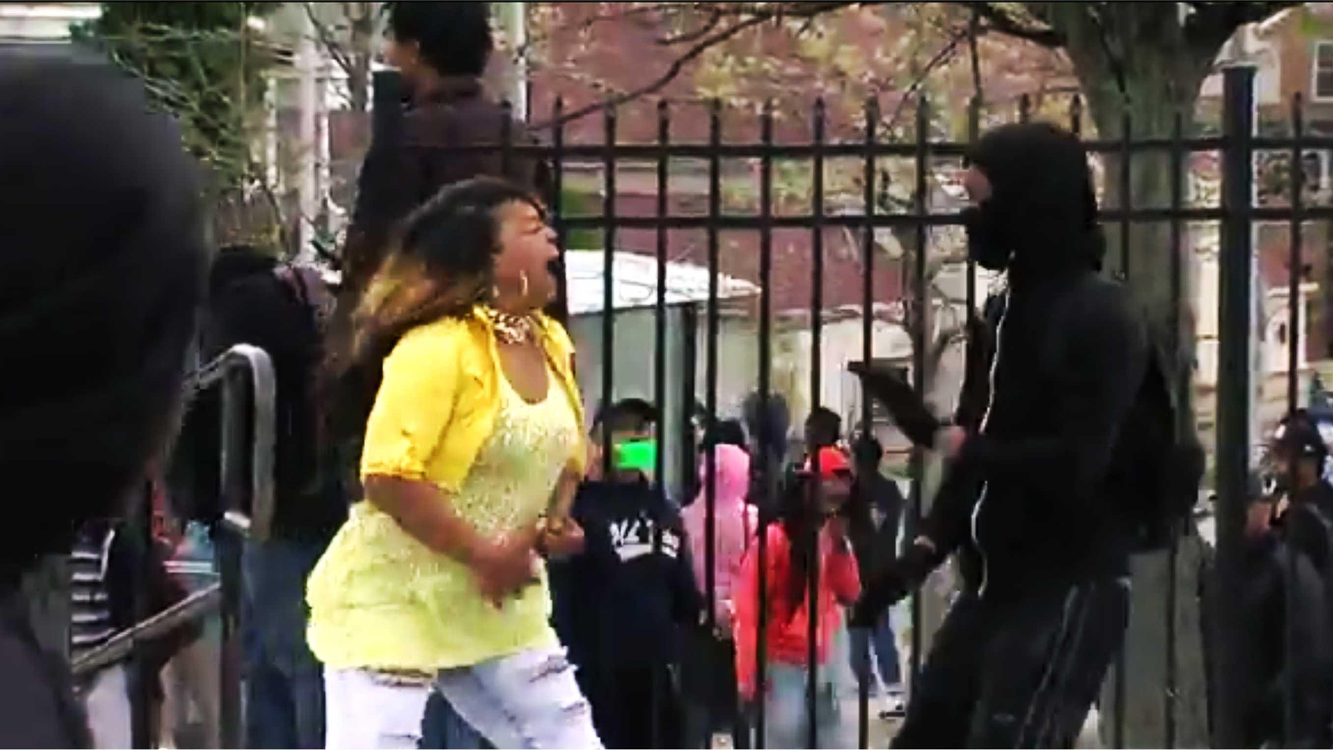 Furious Baltimore mother