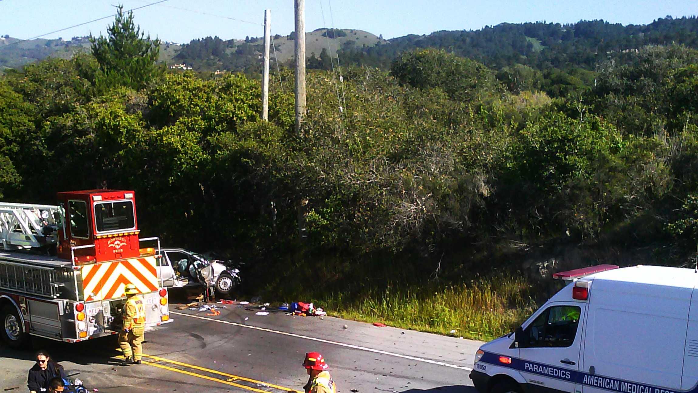 Highway 68 crash (April 28, 2015)