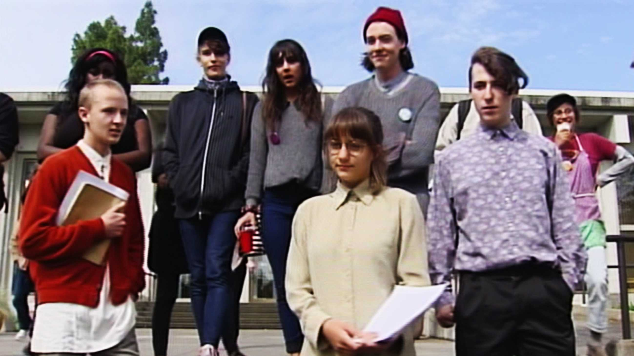 Six UC Santa Cruz students held a press conference after they pleaded no contest.  (May 7, 2015)