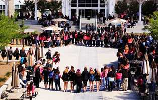 Classmates also held a prayer circle for Salcido at school.