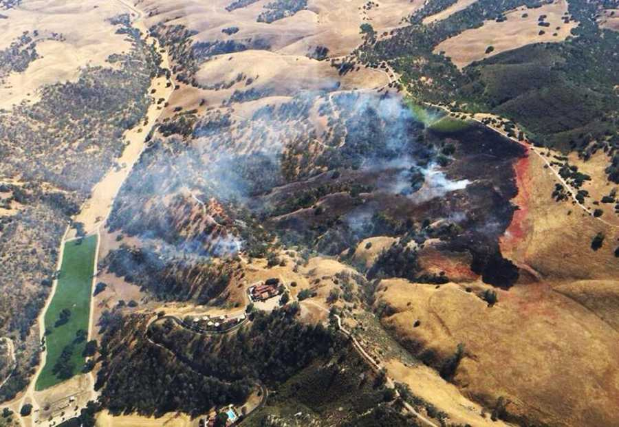 "Deer Fire - May 10 : Lightning sparked a 66-acre wildfire along Deer Canyon Road in rural south Monterey County. Lightning struck an oak tree in Parkfield during a storm system that passed through.""The fire smoldered in an oak tree until conditions for fire spread improved. (Sunday's) warm, dry conditions led to the fire spreading,"" CalFire said."