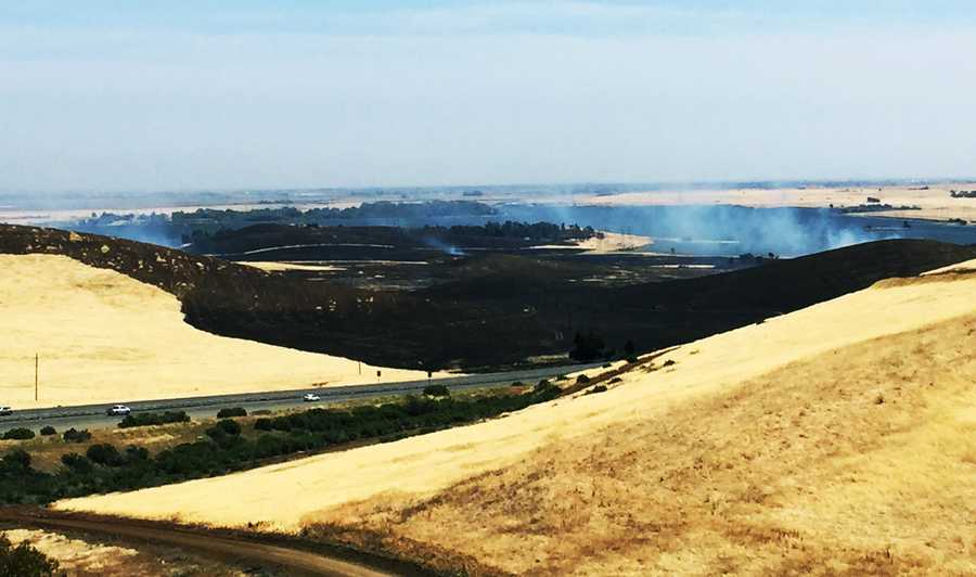 On May 11 - Forebay Fire