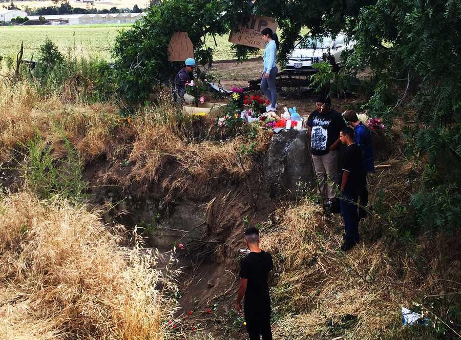 The passengers were identified by Santa Clara County Coroner's Office as:Sara Williams, 18, Yolanda Jimenez, 18, Yesenia Mendoza-Pina, 18, Joseph Vasquez-Flemate, 24. They all lived in Gilroy.