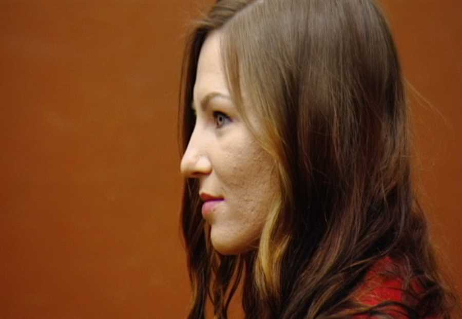 Alix Tichelman is seen here on May 19, 2015 as she pleaded guilty to involuntary manslaughter and administering drugs.