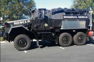Del Rey Oaks: Mine-Resistant Armored Vehicle
