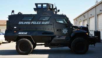 Salinas:Mine-Resistant Armored Vehicle