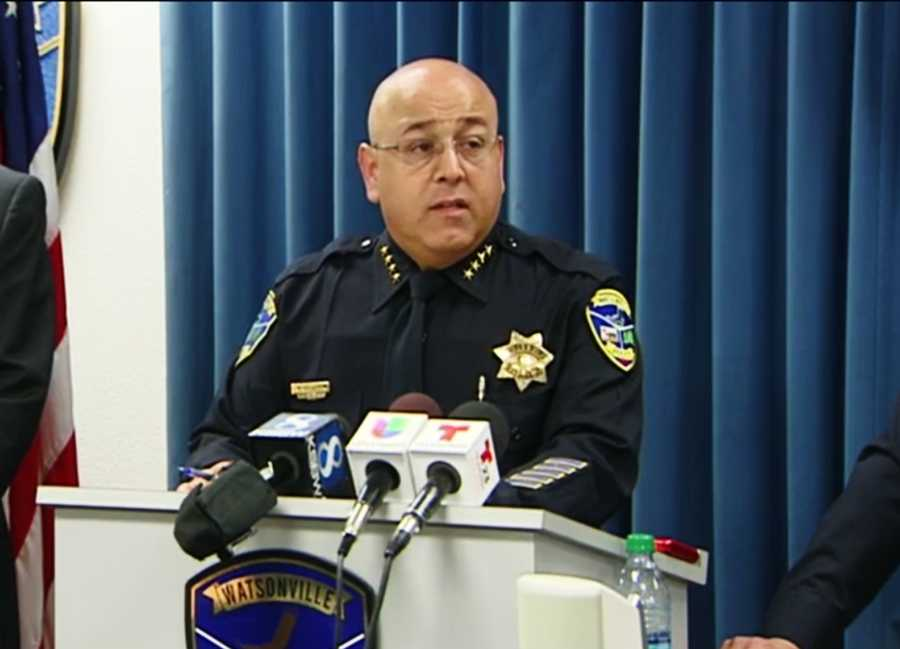 Police Chief Manny Solano held a press conference Monday and identified the gunman killed by police as Alejandro Campos Fernandez, 45, of Watsonville.