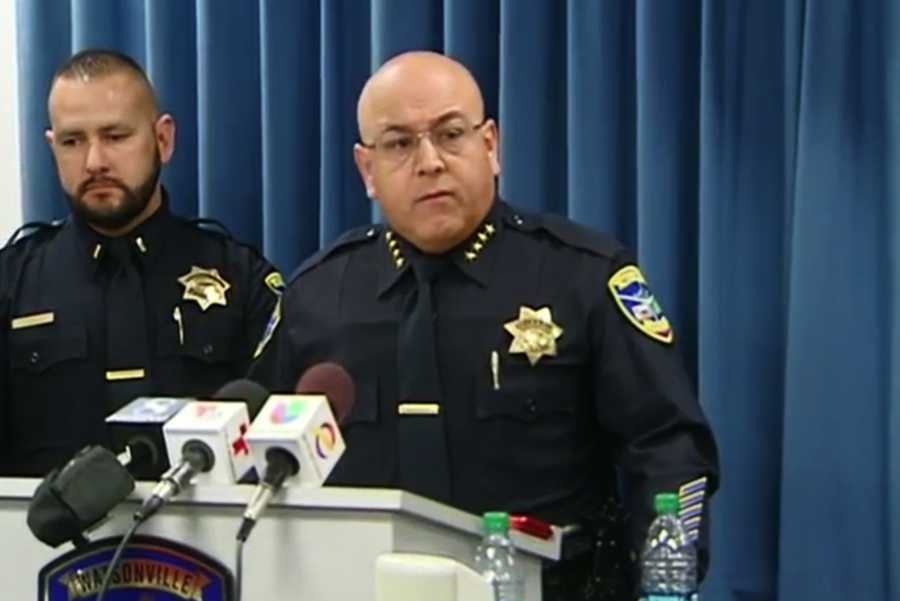"Solano said the officer-involved shooting will be reviewed with a ""timely, thorough, and accurate investigation, with the rights of all of those affected respected."" He added, ""It's a large and complex crime scene."""