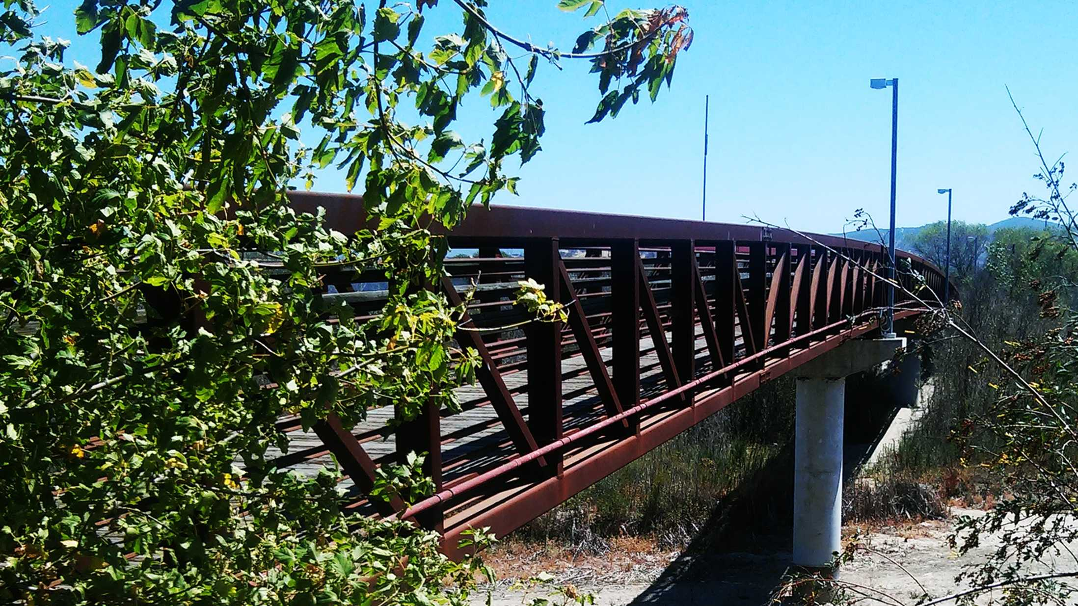 Shot were fired on this bridge in King City on June 24, 2015.