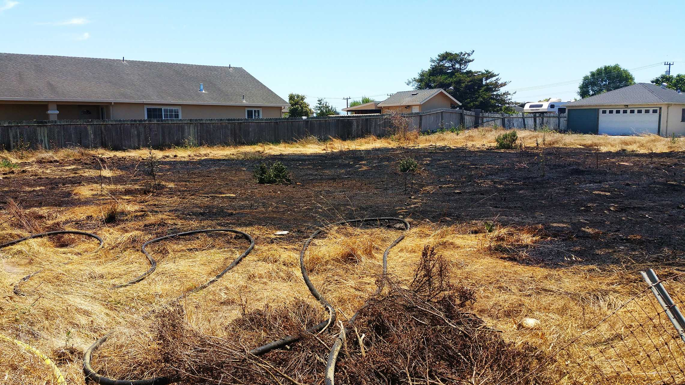 Castroville grass fire (June 29, 2015)