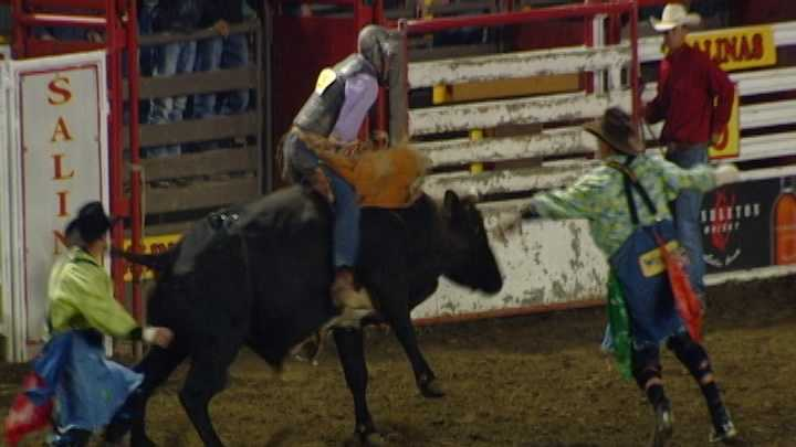 It's a job unlike any other at the California Rodeo Salinas -- the life of a bull fighter or rodeo clown.