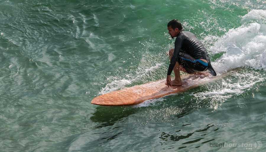 """""""It's a no brainer. It's such a special thing that they brought surfing to us back when they did. To be a part of that is insane. I'm down with it,""""Virostko said."""