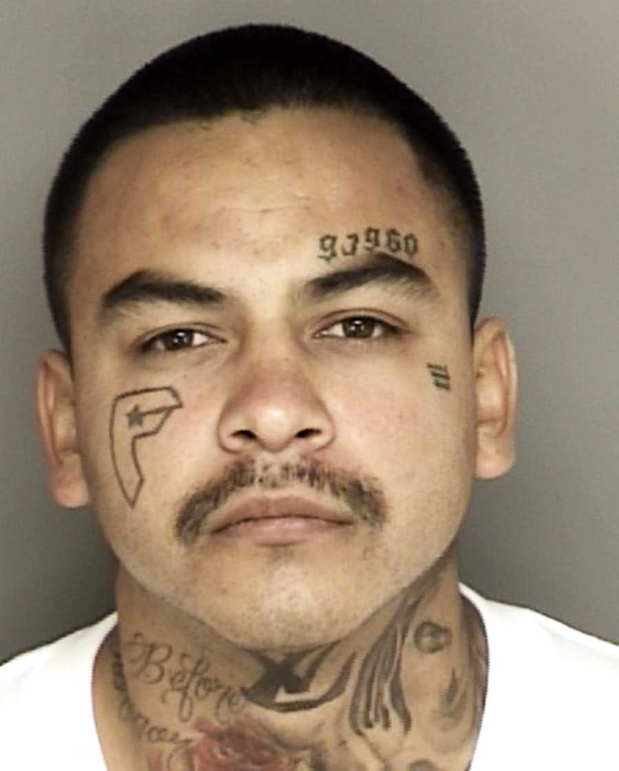 Ernesto Gonzalez, 27, of Soledad - Charges: felon in possession of firearm/drug sales.