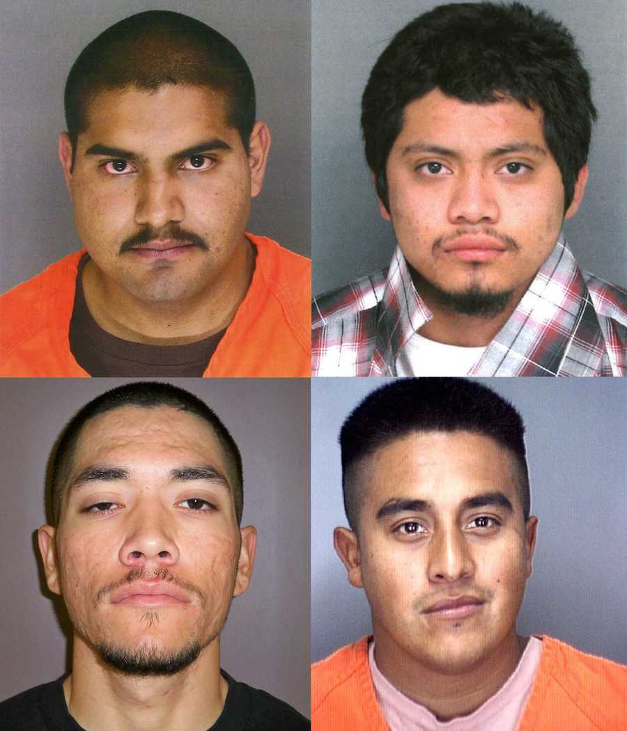 Four men from the Central Coast are on Northern California's Most Wanted list and remain at-large.