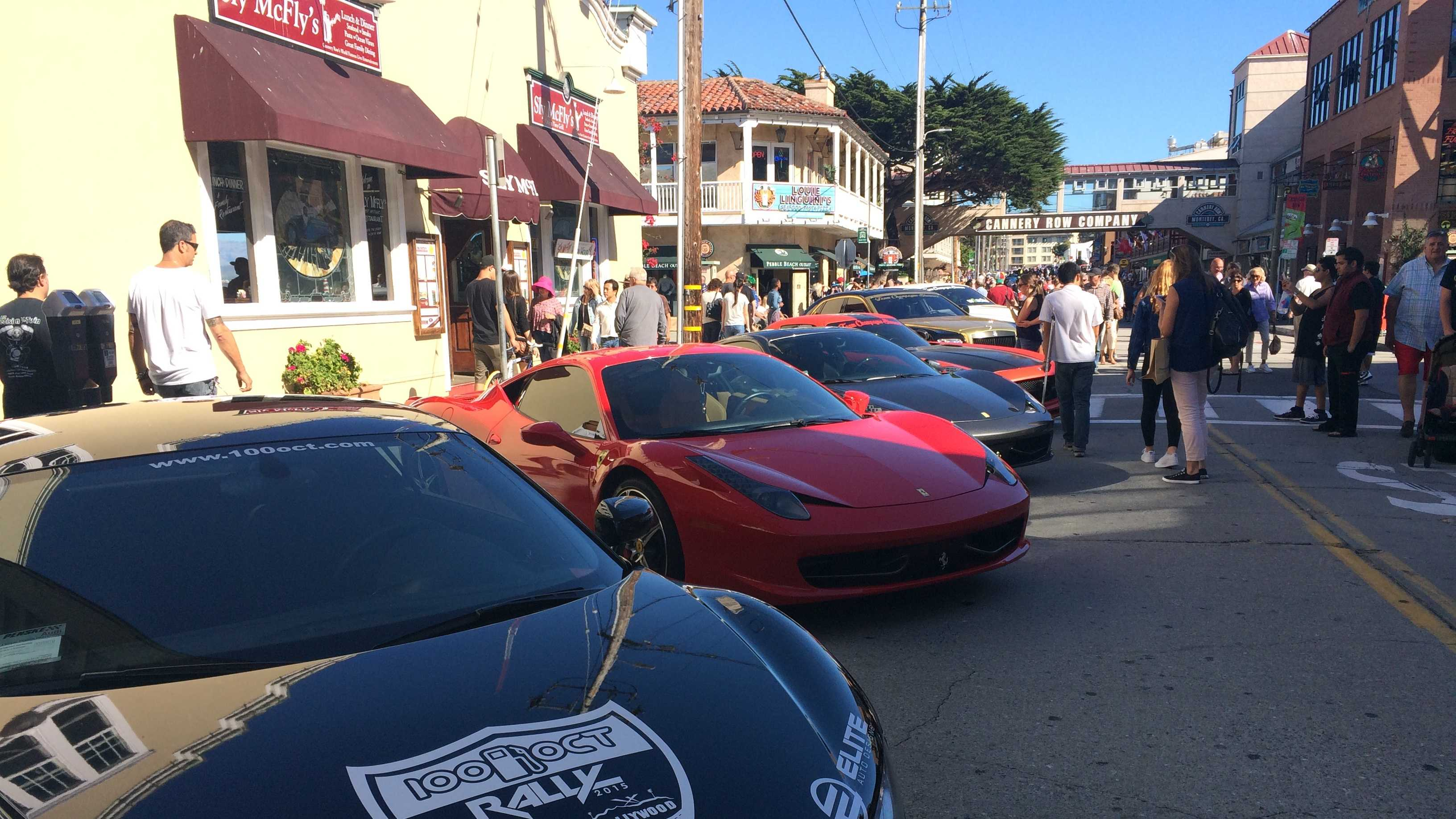 For the first time ever, Classic Car Week met with an iconic Monterey street.