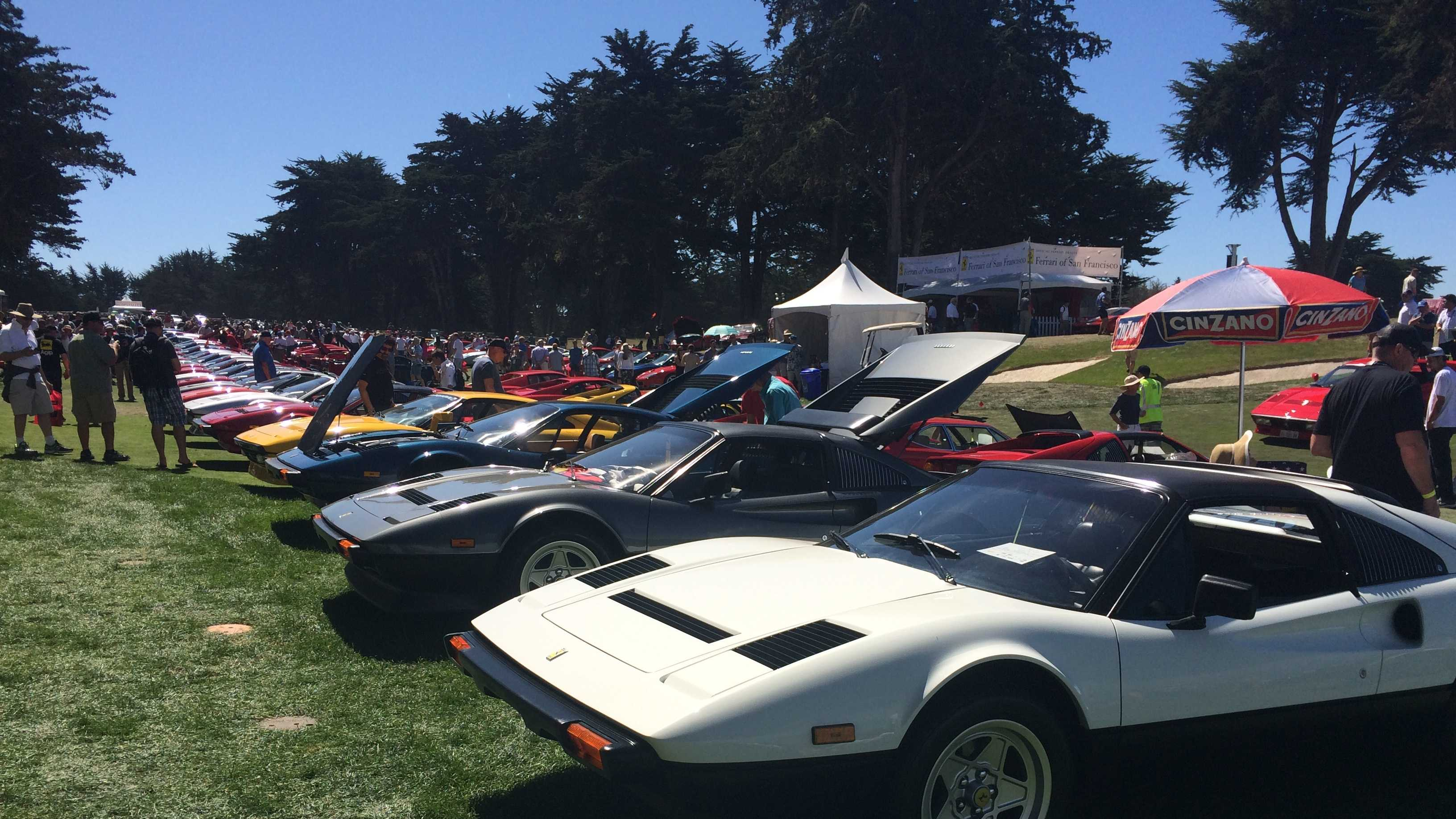 Concurso Italiano celebrates Italian cars on Monterey Peninsula.