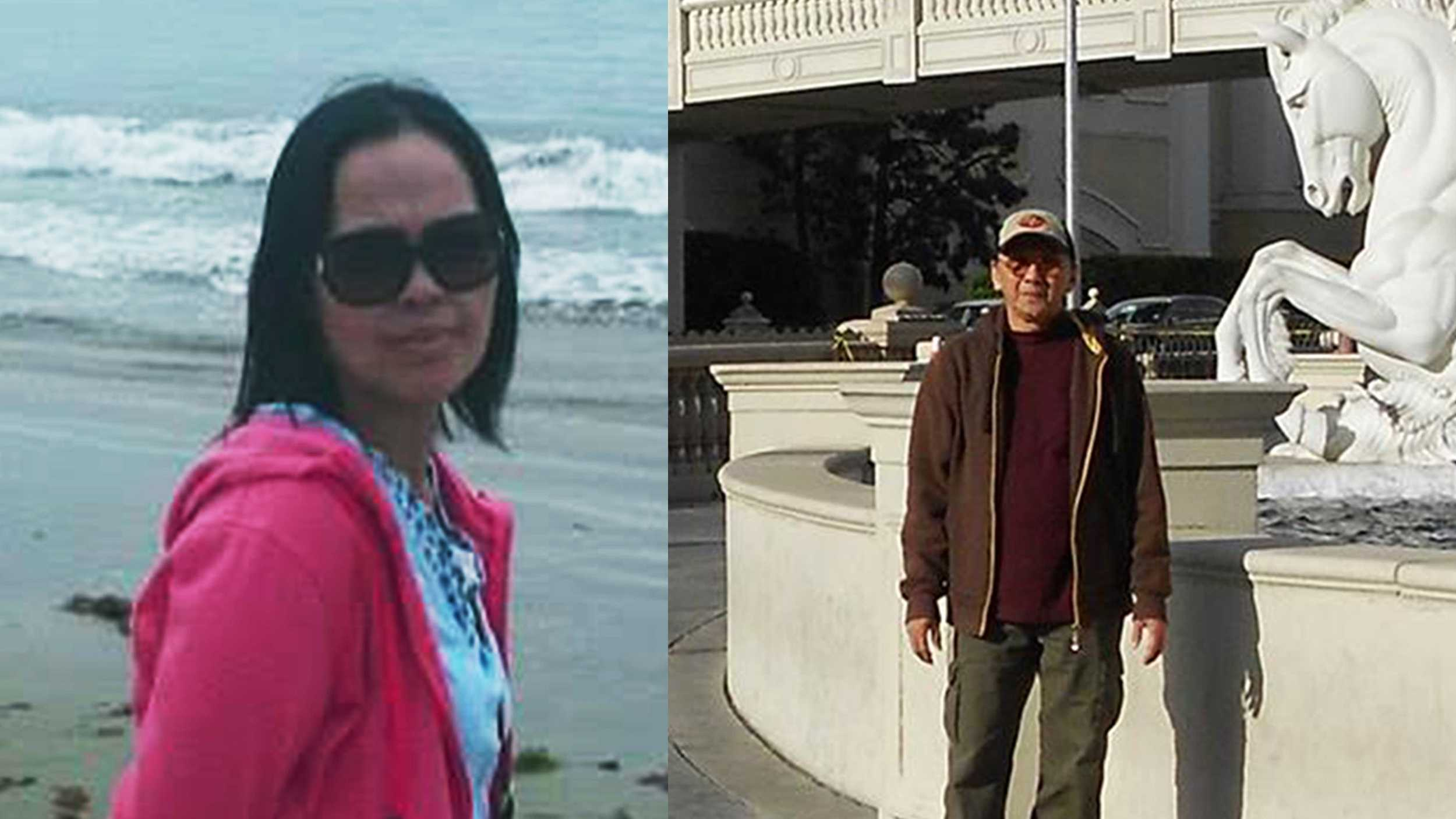 Felicidad Legaspi, left, and Oliver Legaspi, right, were shot to death in Salinas on Aug. 27, 2015.