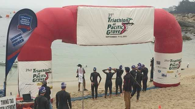 Pacific Grove Triathlon challenges athletes at all levels