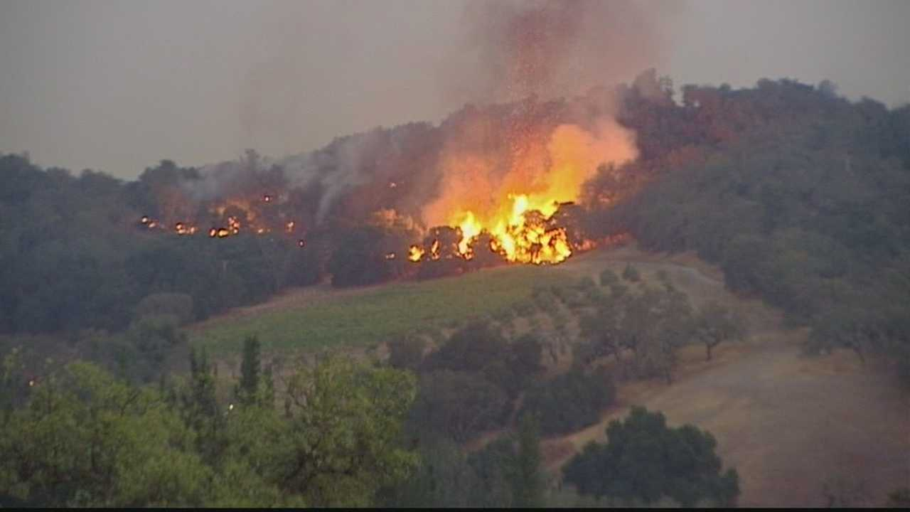 Tassajara Fire now 81% contained at 1,086 acres