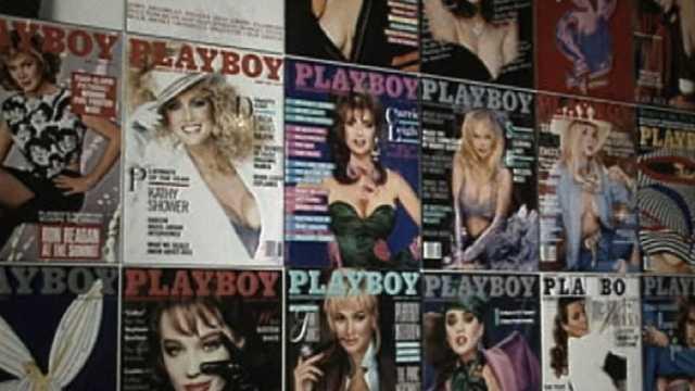 Playboy magazine covers