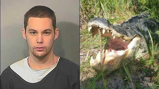 Matthew Riggins was attacked and killed by an alligator.