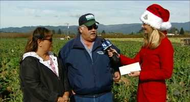 This year's largest single donation was made by farmer Dick Peixoto of Lakeside Organic Gardens, who generously donated $36,500!