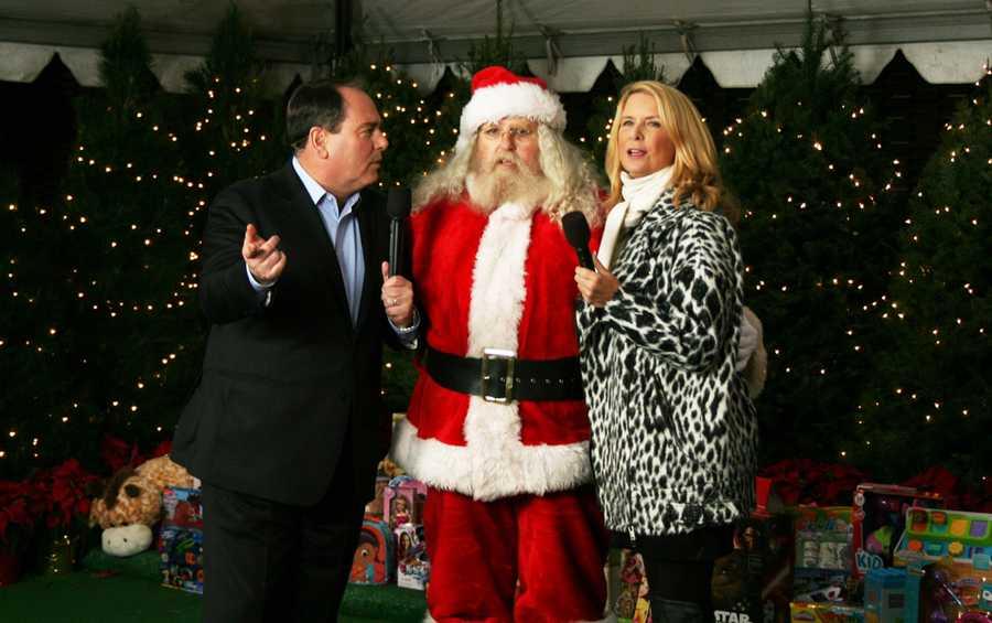 Dan Green and Erin Clark interview Santa Claus.