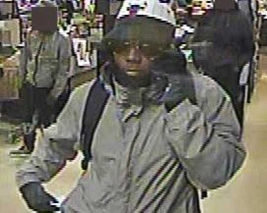EL CERRITO - On December 28, 2015, a man approached a teller at a US Bank in a Safeway grocery store. He passed a note demanding money.