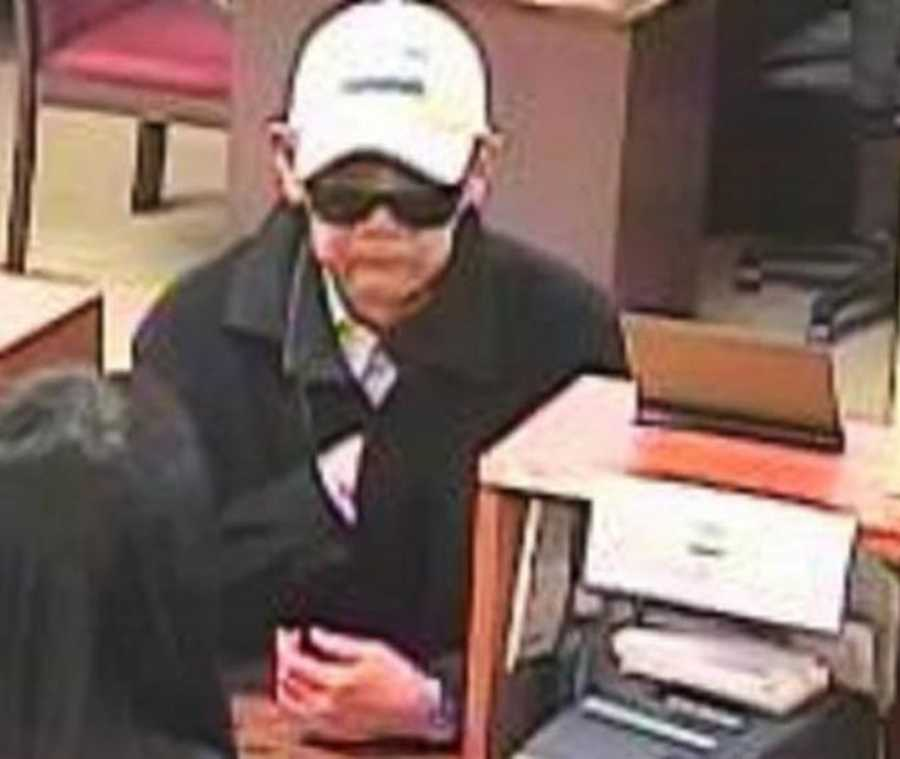 """SAN FRANCISCO -  The """"Droopy Face Bandit"""" is believed to be responsible for as many as 10 robberies in San Francisco, dating back to 2007. He has targeted banks in predominantly Asian neighborhoods throughout San Francisco, including Chinatown. The most recent robberies occurred on September 16, 2015 at the East West Bank on 498 Clement Street and another on September 8, 2015 at the East West Bank on 900 Kerny Street."""