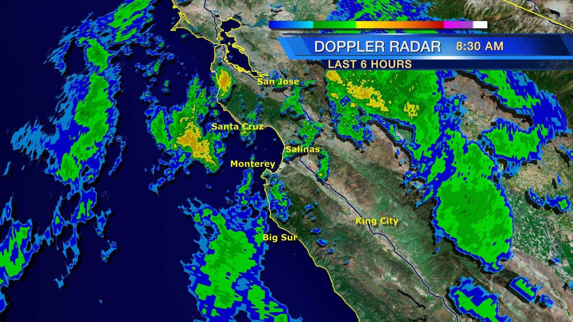 Hola El Nino Weeks of storms hit Central Coast