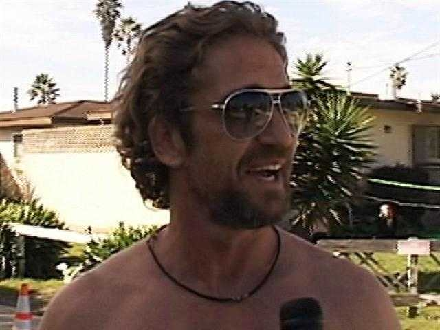 Movie star Gerard Butler said he enjoyed filming in Santa Cruz. (Oct. 14, 2011)