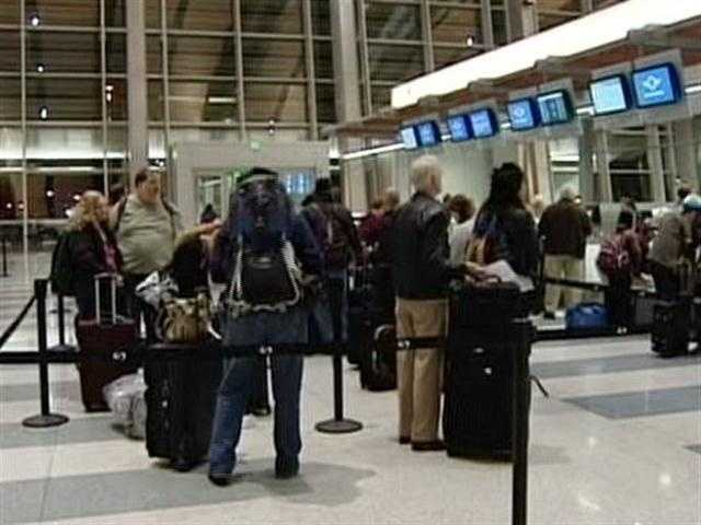A look inside of the Sacramento International Airport on Thursday morning (Jan. 26, 2012).