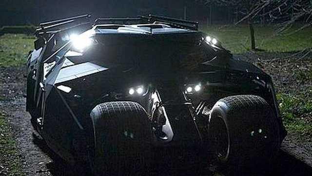 """""""He's in a vehicle. It's a black … tank!"""" -- """"Batman Begins"""" (2005)"""