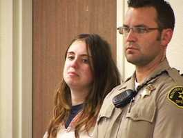 On Jan. 11, 2012, Tomasini was sentenced to an additional year in jail for violating her probation by doing drugs.