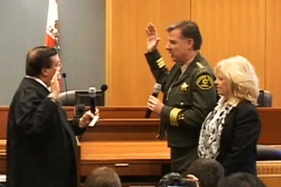 Scott Miller has three decades of fighting crime on the Central Coast under his belt, and was sworn in as Monterey County's sheriff in January 2011.