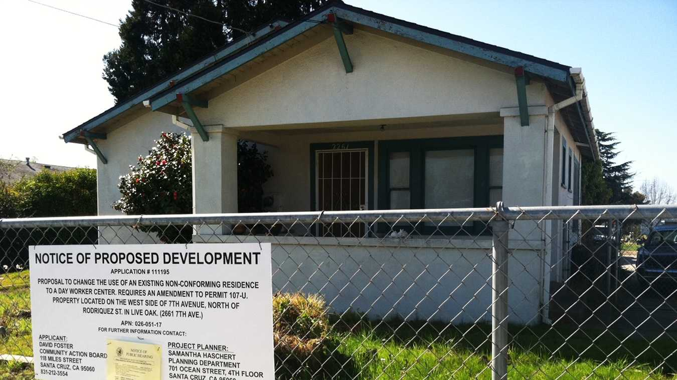A house at 2261 Seventh Ave. in Live Oak will become a day laborer center.