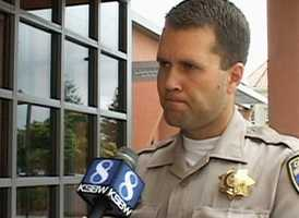 CHP officer Robert Lehman said investigators determined that Molina, a father of four, caused the deadly collision because of his reckless chase.  Collision experts said they were unable to determine if Xitlali had been wearing a seat belt or was properly secured in a child safety seat.