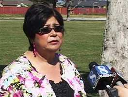 """De La Rosa""""This is a very difficult moment as you well know,"""" she said. """"As a mother I'm saddened, worried and concerned for my 23-year-old son who was recently arrested."""""""