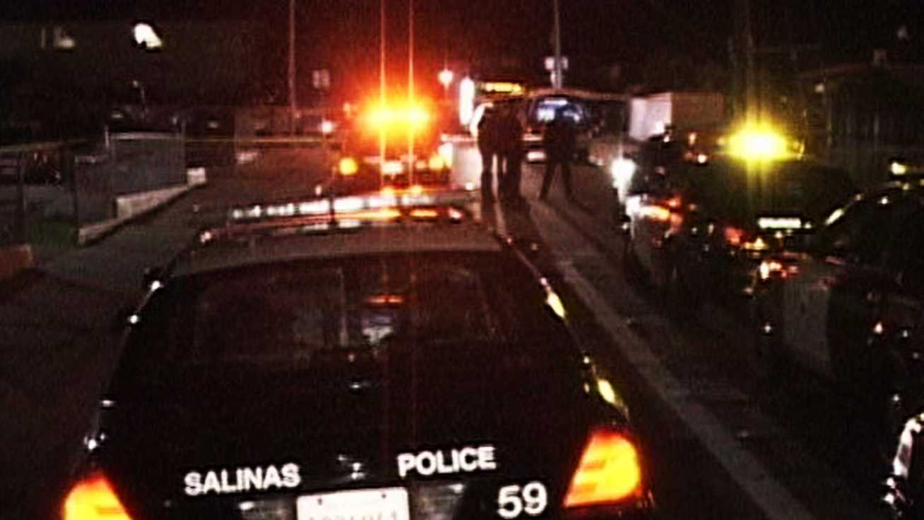 Police investigate Salinas' fourth homicide of 2012.
