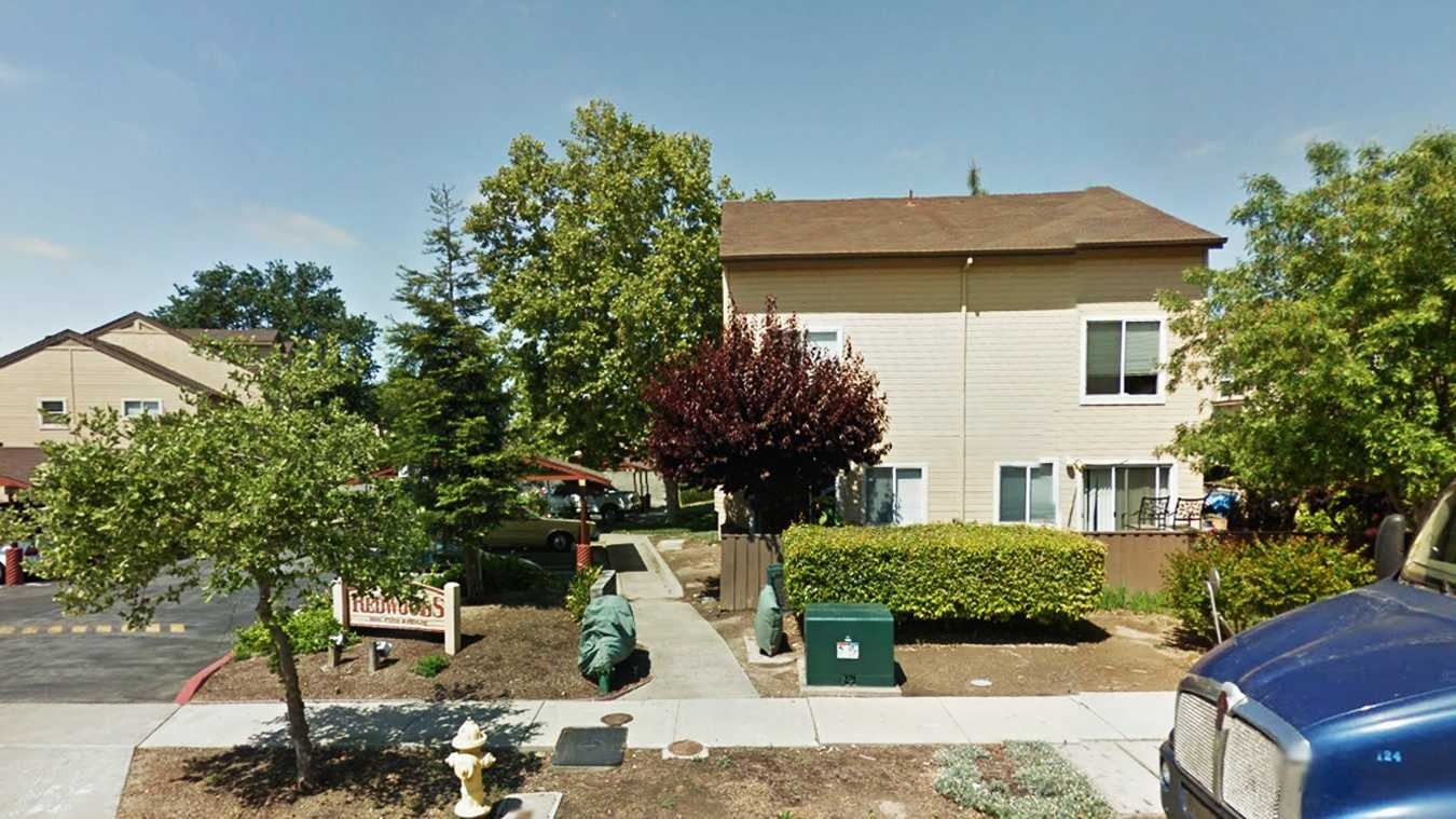 Abel Gutierrez lived in this Kern Avenue apartment complex in Gilroy with his sister and mother.