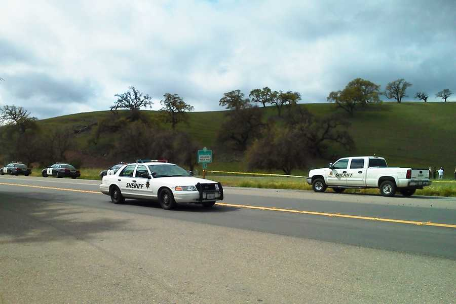 Martha Gutierrez' body was found March 22 in a rural area halfway between Gilroy and Hollister where Highway 156 intersects with Highway 152, police said.  Abel Gutierrez likely shot his mother inside his green Ford Mustang and dumped her body before he returned home.