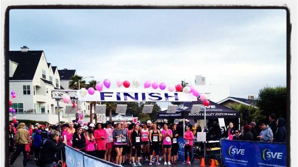 Santa Cruz's Pinkest Race