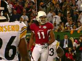 10) Larry Fitzgerald: $26,250,000 salary/winnings, $500,000 endorsements, $26,750,000 total