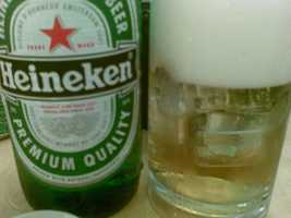 Heineken is another import that is a corporate sister of Dos Equis.