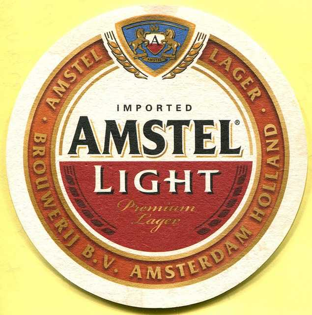 Amstel Light drinkers will most likely cast their ballot for Mitt Romney in November.