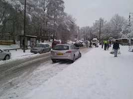 Any car, four wheel or front wheel, can have difficulties in winter conditions. Keep that in mind.