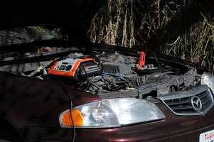 """""""Checking the battery.""""- National Safety Council"""