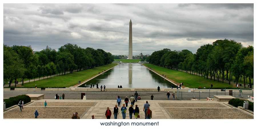 Still don't have your summer travel plans figured out? Take a look at these great American landmarks for some ideas.The Washington Monument in Washington, D.C.
